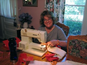 quilting together and interpreting dreams--bits and pieces come together