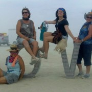 Who's Got Your Back? Teamwork at Burning Man