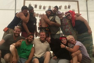 Encounter team at Burning Man