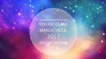 Webinar Dream Interpretation Class Destiny Dreamz