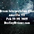 Dreamz School Dream Interpretation Class (Amarillo)