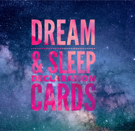 Dream and Sleep Declaration Cards